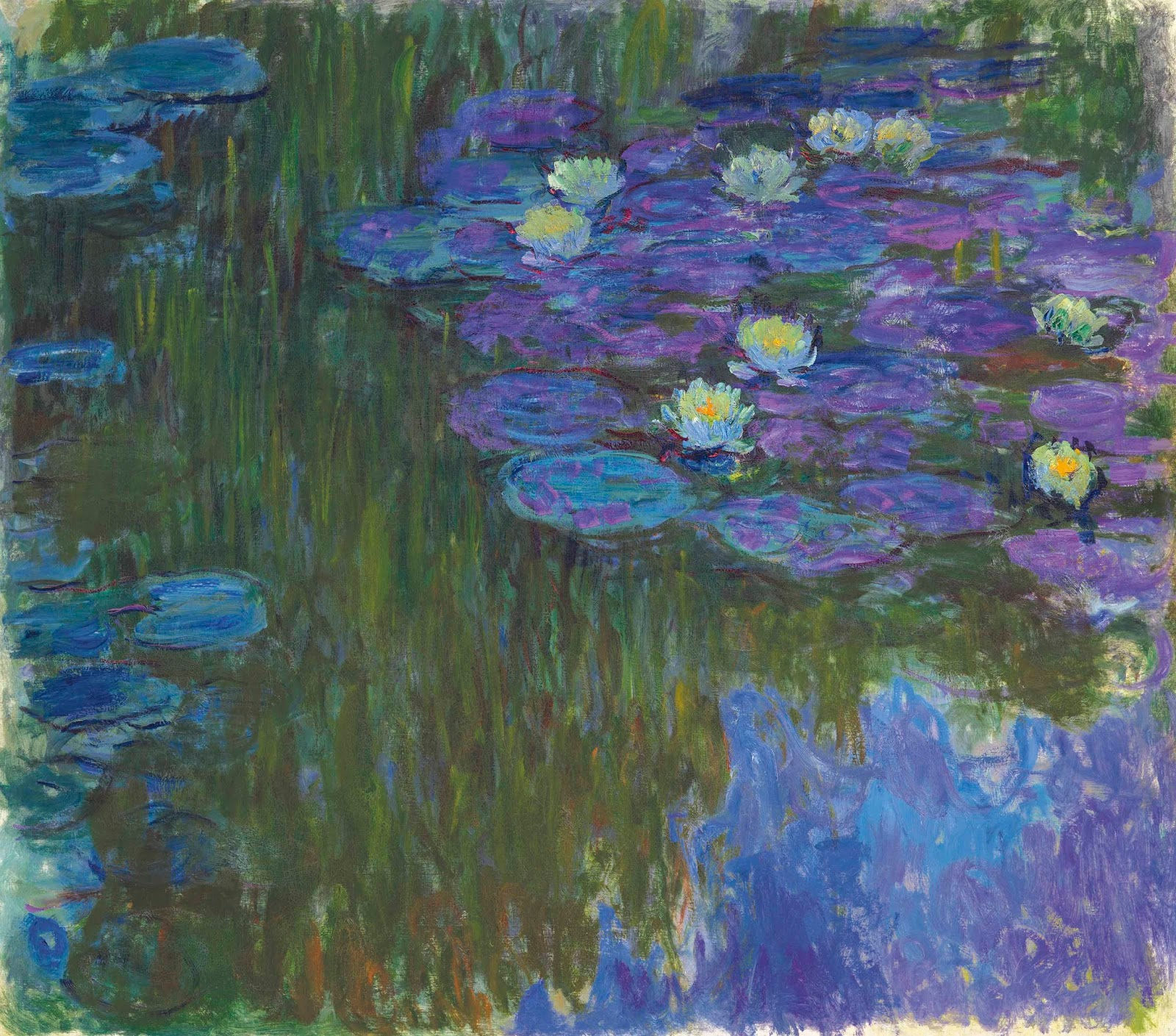 Claude Monet's Nymphéas en fleur Painting Sells for $84 7 Million