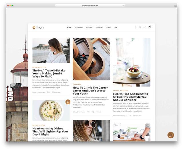 Gillion Wordpress Teması
