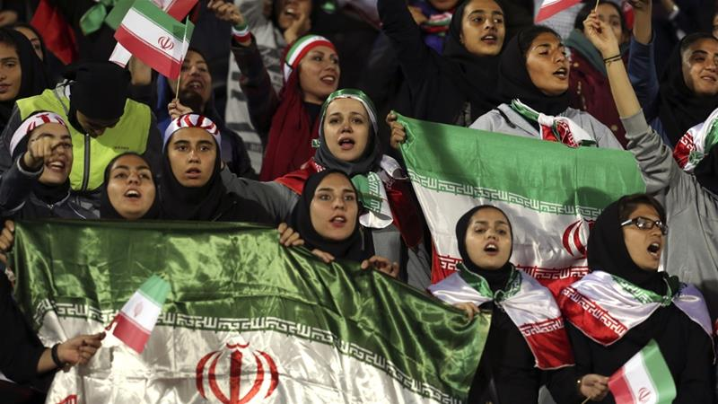 'Taking back what's ours': Iran's women to attend historic match