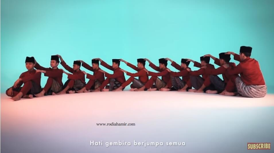 Lagu Raya Hael Husaini- Bersyukur Seadanya Kelakar Gila