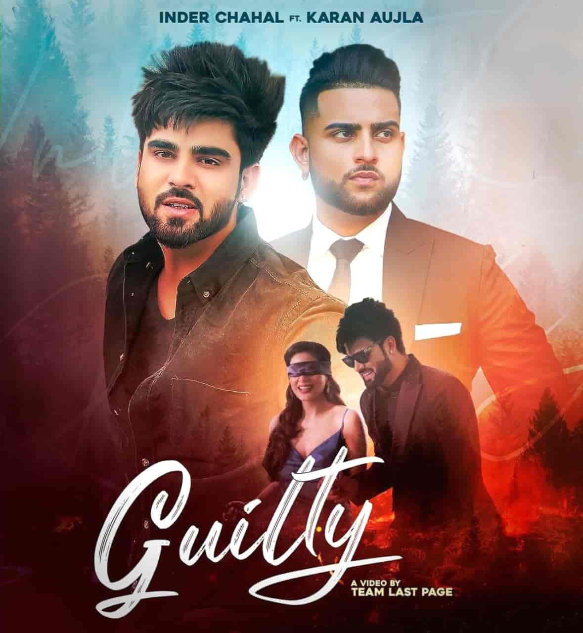Guilty Sad Punjabi Song Image Features Inder Chahal And Karan Aujla