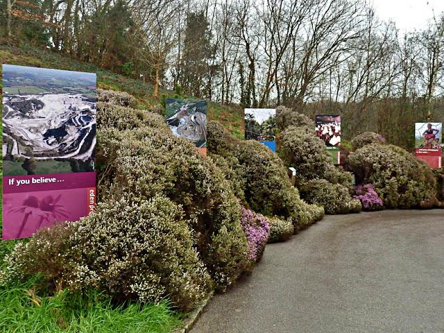 Eden Project walkway, Cornwall