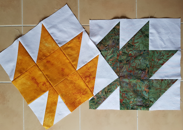 Maple leaf quilt blocks | DevotedQuilter.com