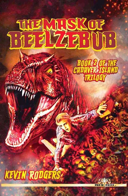 THE MASK OF BEELZEBUB is Now Available! Cover art by Jeff Hayes!