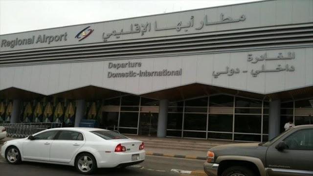 Drones yemeníes bombardean aeropuerto en el sur de Arabia Saudí