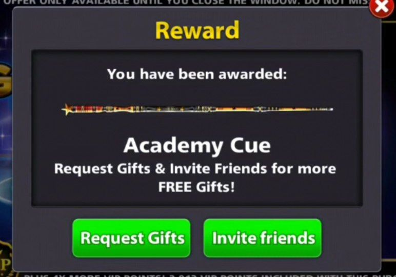 8 ball pool cue for free