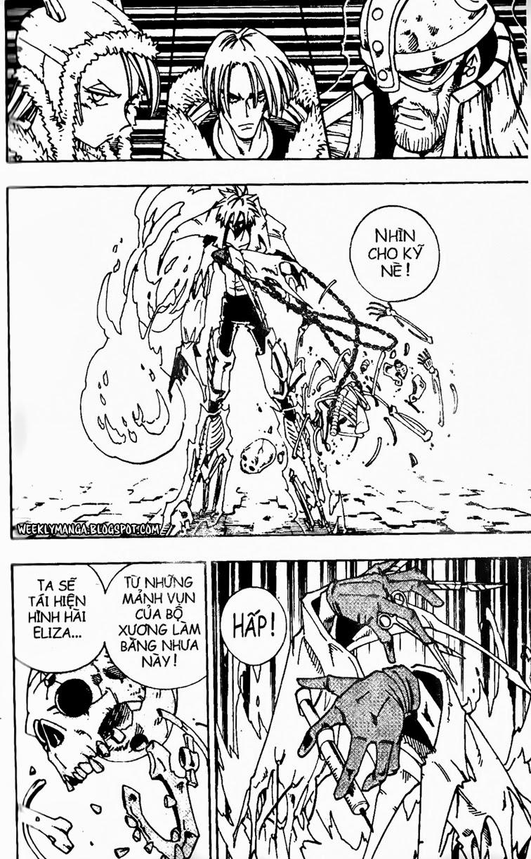 Shaman King [Vua pháp thuật] chap 130 trang 19