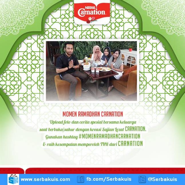 Kontes Momen Ramadhan Carnation Berhadiah THR 2,5 Juta