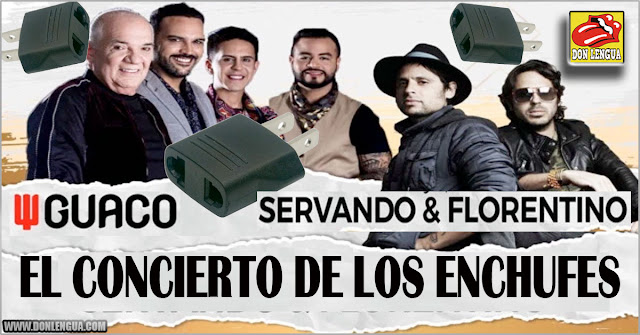 """""""El concierto de los Enchufes"""" de Guaco y Servando y Florentino vale hasta 1300 $ por persona"""