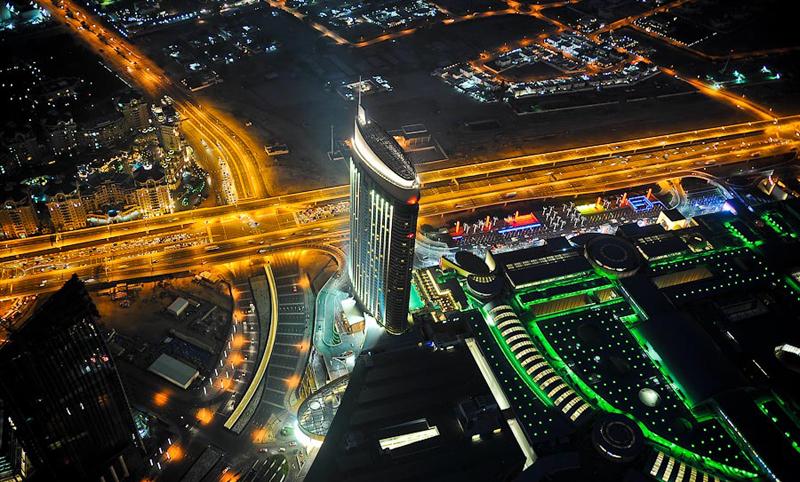 Burj Khalifa Dubai Inside And Top Floor View Agra