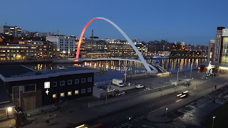 Night on the Tyne,Newcastle at night Gateshead Millenium Bridge, Sage Gateshead,HMS Calliope, Photos Newcastle,Northumbrian Images Blogspot,North East, England,Photos,Photographs
