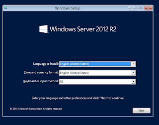 Install Windows Server 2012 R2 lengkap dengan gambar