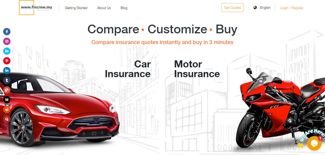 Website Terbaik Untuk Perbandingan Sebut Harga Insurans