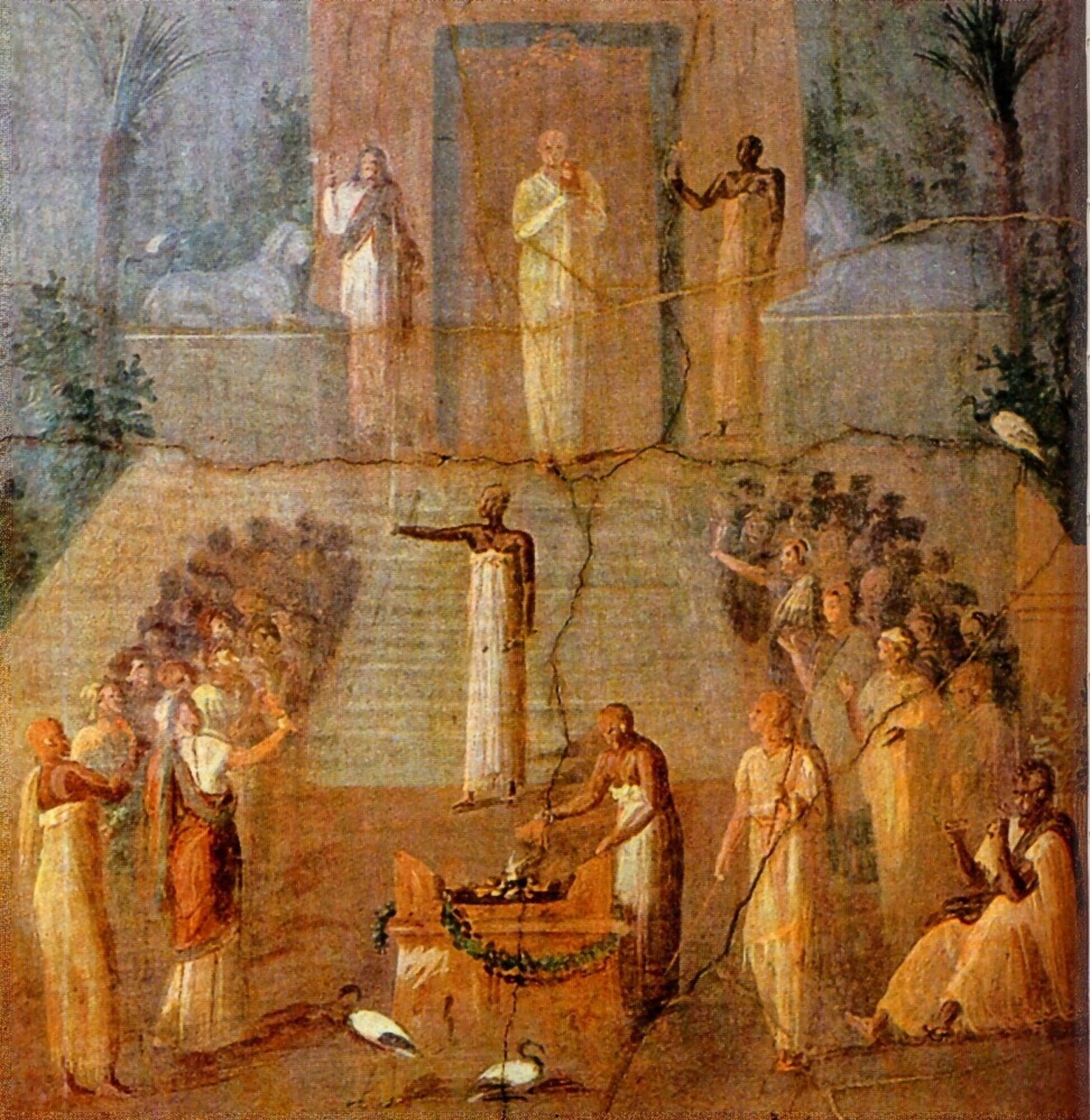 Initiation Rites Of The Cult Of Bacchus