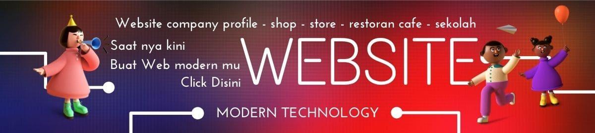 pembuatan website modern terbaru