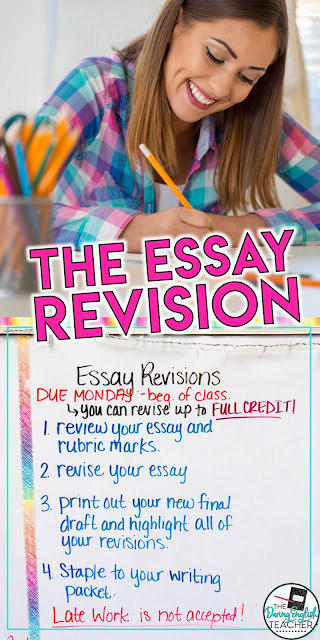 Essay Revisions: How I Help Students Become Better Writers