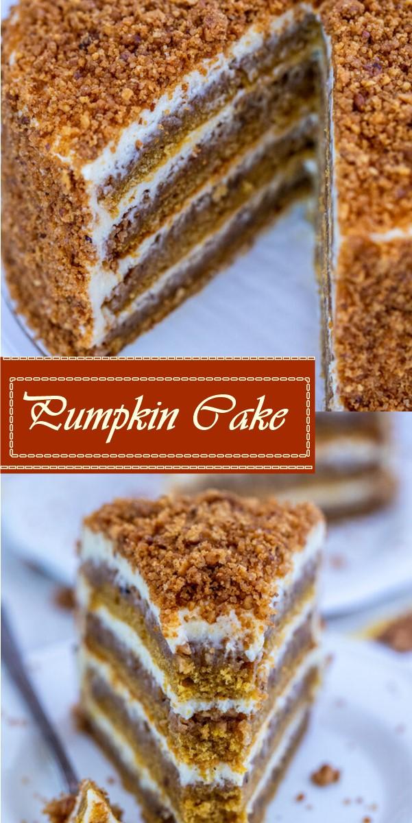 Pumpkin Cake #cakerecipes