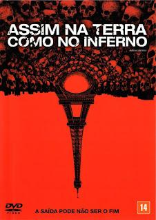 Assim na Terra Como no Inferno - Poster