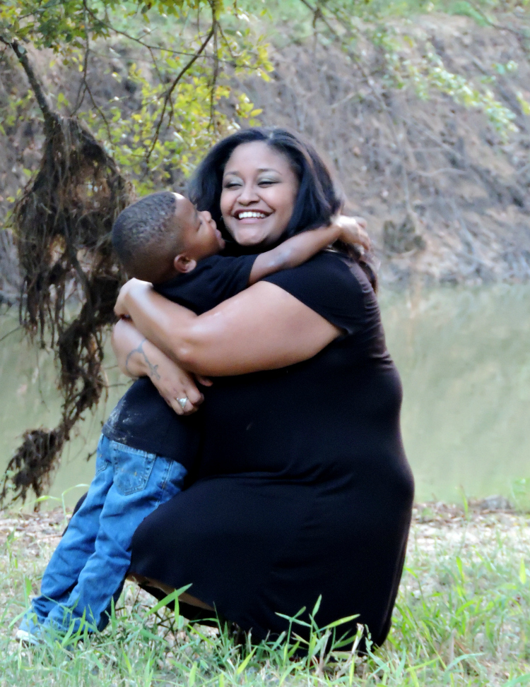 Ericia and DJ Mommy and Me Session with a Mini Birthday Session