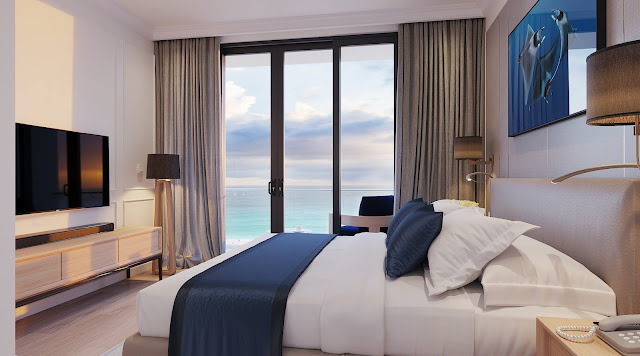 phối cảnh nội thất căn hộ sunbay park hotel phan rang ninh thuận 2