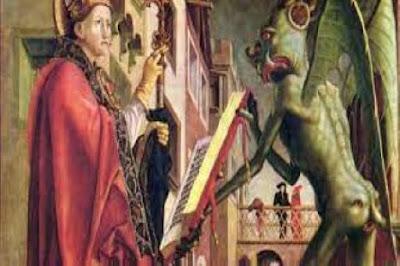 الشيطان .. والسيده ورد