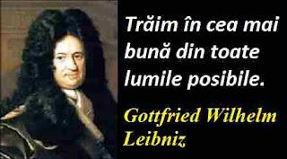 Maxima zilei: 1 iulie - Gottfried Wilhelm Leibniz