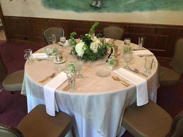 Elegant Bridal Shower Tablescape
