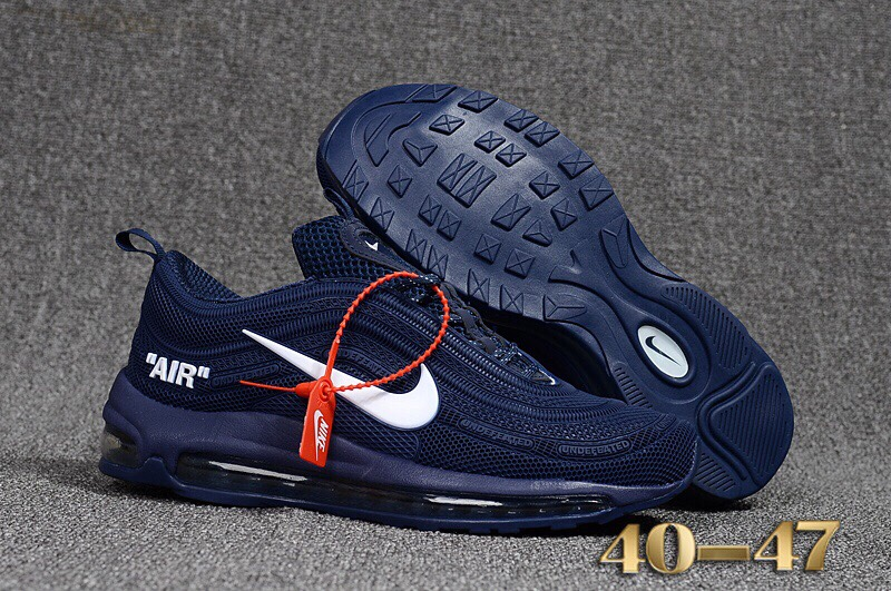 Giày Nike Nam Air Max 97 2018 SF Blue Size 43