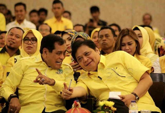 NH Laporkan Dua Kader Tidak Taat Keputusan Partai Golkar