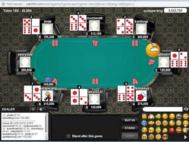 Cara Hack AduQ Online Server Poker V Menggunakan ID PRO MASTER !