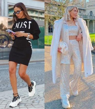 Guia de moda Looks estilosos com tênis, India Moon, Carol Curry