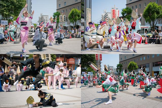 熊本地震被災地救援募金チャリティ阿波踊りの記事のカバー写真