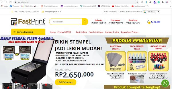Belanja Online di FastPrint Official Website