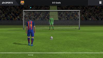 Tampilan Game FIFA 17 Mobile Soccer