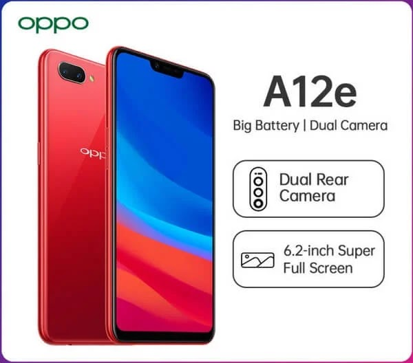 OPPO A12e with Qualcomm SD450 Chip and 4,230mAh Battery Now Available for Only Php5,990