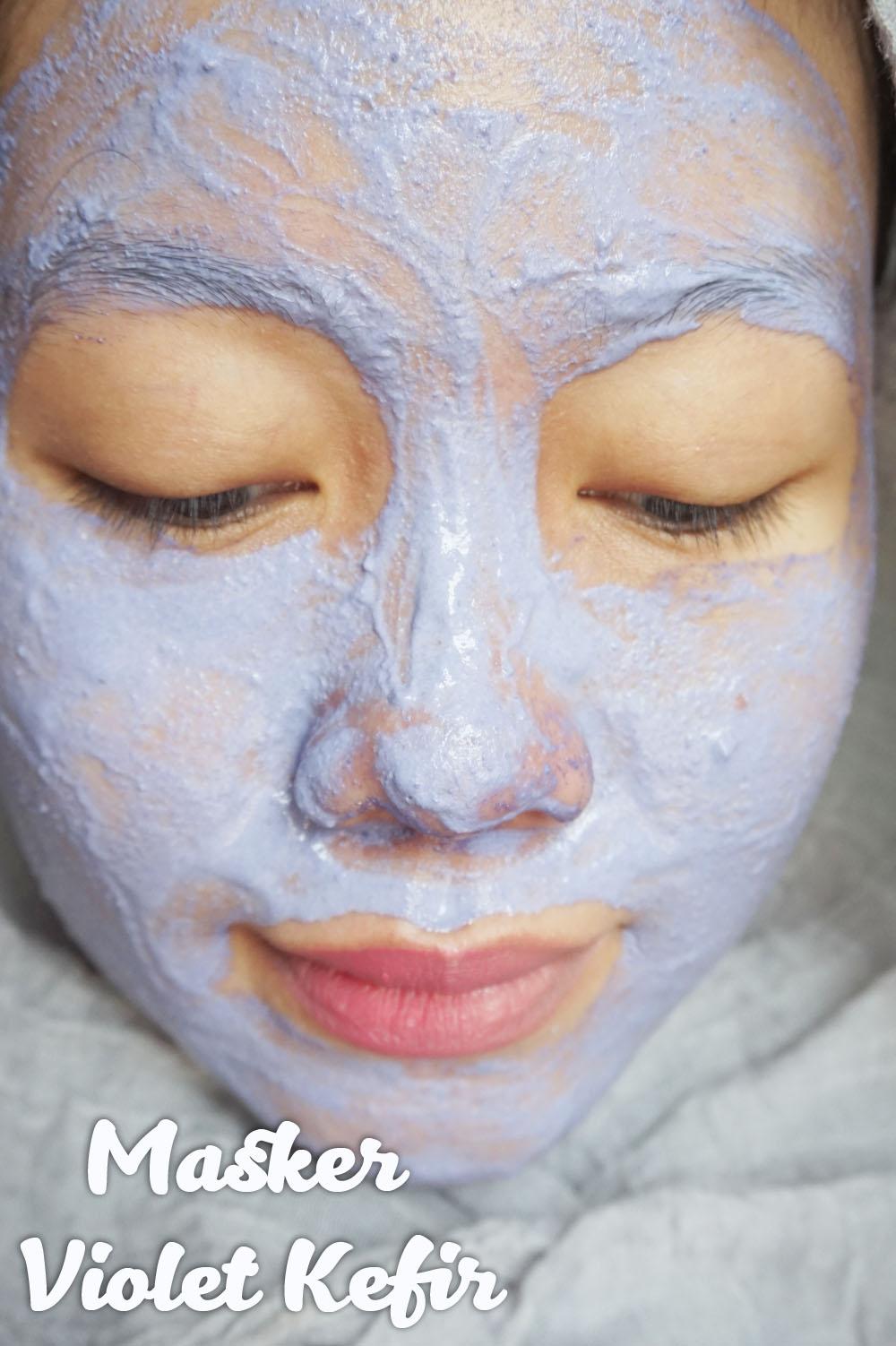 Beauty Blogger Indonesia By Lee Via Han Masker Kefir Warna Warni Black Mask Dari Masque Maison