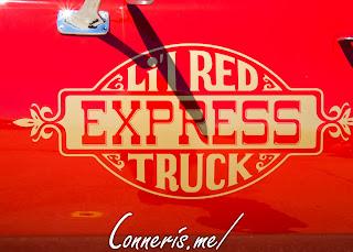 1979 Dodge D150 Lil Red Express Side Vinyl Emblem