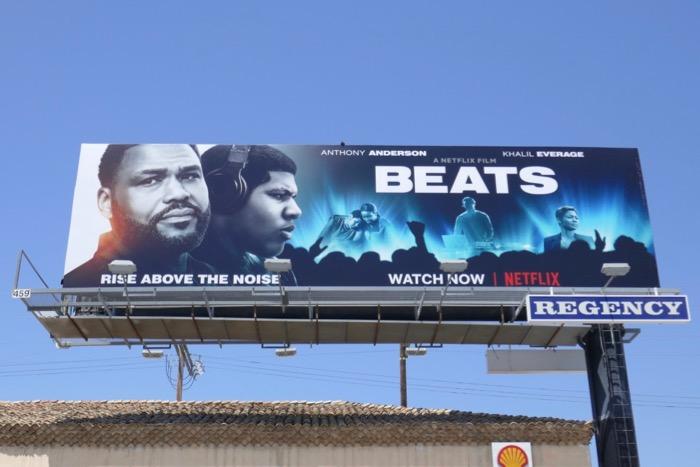 Beats film billboard