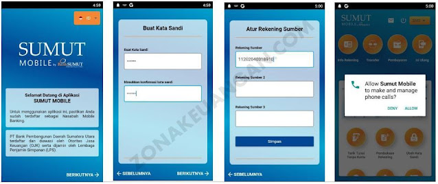Buat PIN Mobile Bank Sumut
