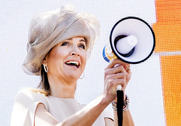 Dutch Queen Maxima launched National campaign of the 11th Neighbour's Day (Burendag)