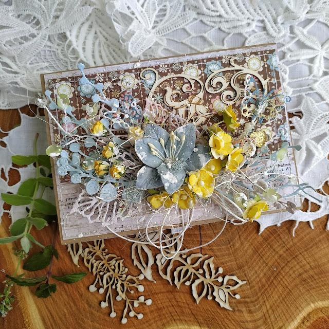 Hellen, коробочка для денежного подарка, коробочка, ДК Зачарованные скрапом.