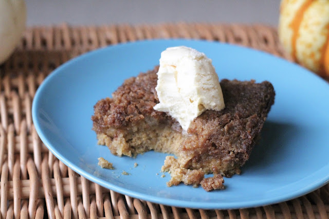 pumpkin dump cake easy recipe UK autumn