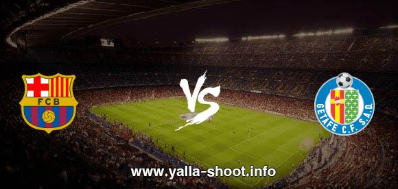 نتيجة مباراة برشلونة وخيتافي اليوم السبت 17-10-2020 يلا شوت الجديد في الدوري الاسباني