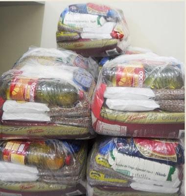 Fundo Social de Registro-SP recebe doação de cestas básicas da Sabesp