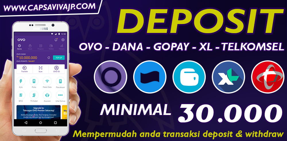 deposit aplikasi e-money