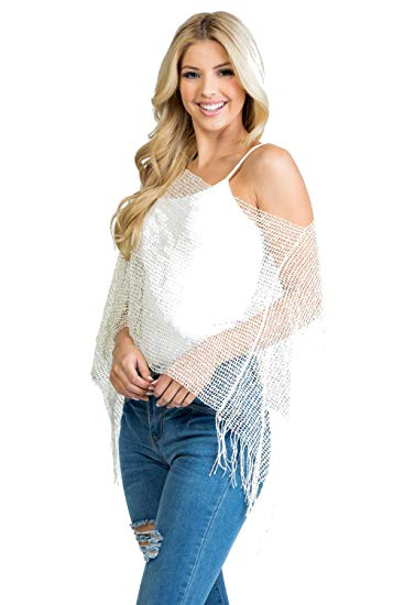 49% off Knitted Viscose Sheer Cardigans for Women
