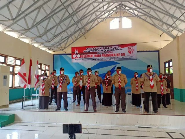 Al Qudwah Jadi Tuan Rumah Video conference Kwarda Banten