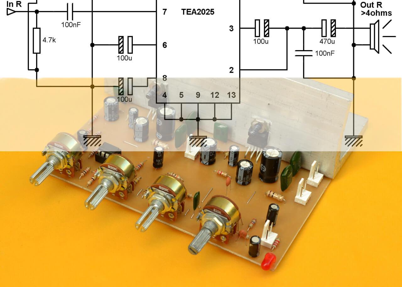 Circuito Basico : Esquemas y circuitos electrónicos para que construyas tu propio