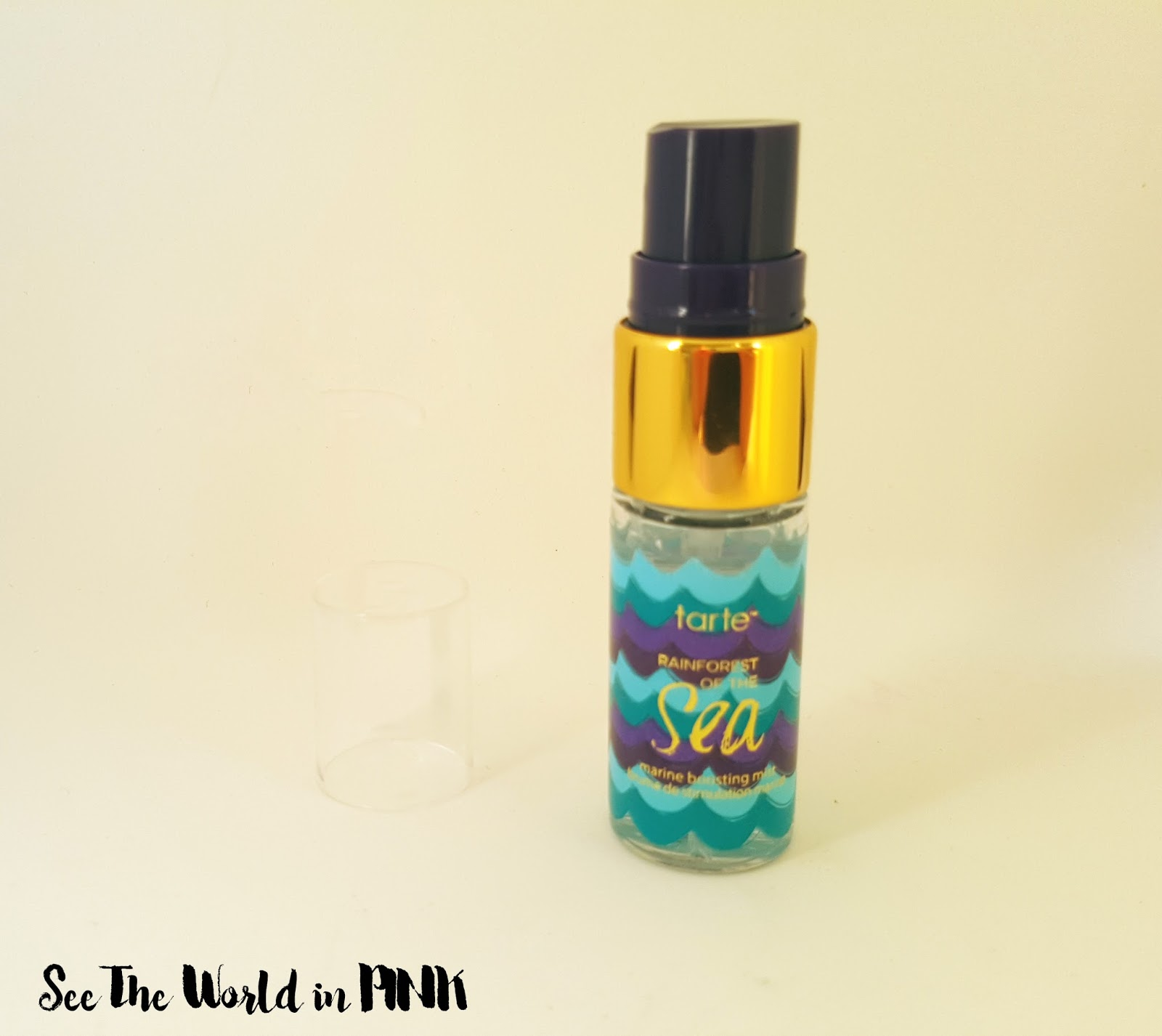 tarte rainforest of the sea marine boosting mist review