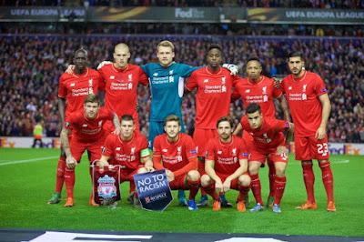 Daftar Skuad Pemain Liverpool 2015-2016